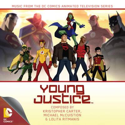 Cover art for Young Justice
