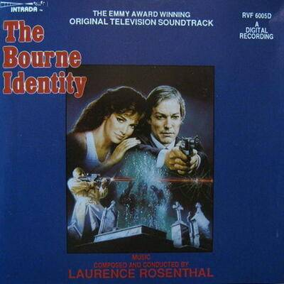 Cover art for The Bourne Identity
