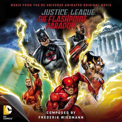 Cover art for Justice League: The Flashpoint Paradox