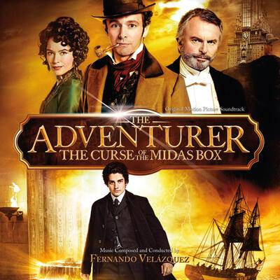Cover art for The Adventurer: The Curse of the Midas Box (Original Motion Picture Soundtrack)