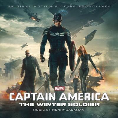 Cover art for Captain America: The Winter Soldier (Original Motion Picture Soundtrack)