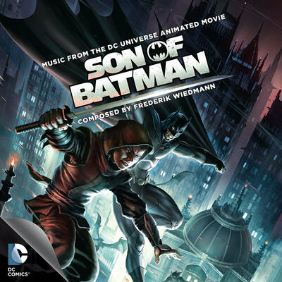 Cover art for Son of Batman