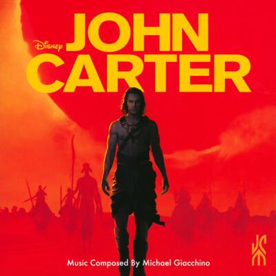 Cover art for John Carter