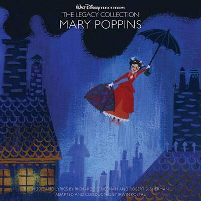 Cover art for Mary Poppins
