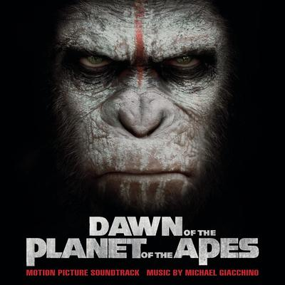 Cover art for Dawn of the Planet of the Apes