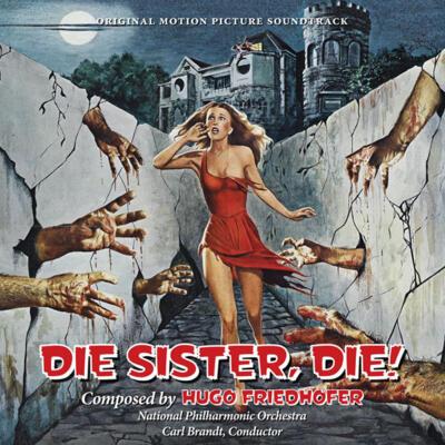 Cover art for Die Sister, Die!