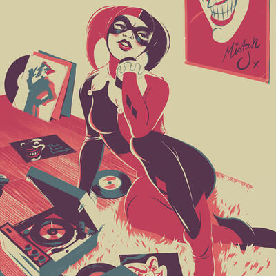 Cover art for Batman: The Animated Series (Harley Quinn)