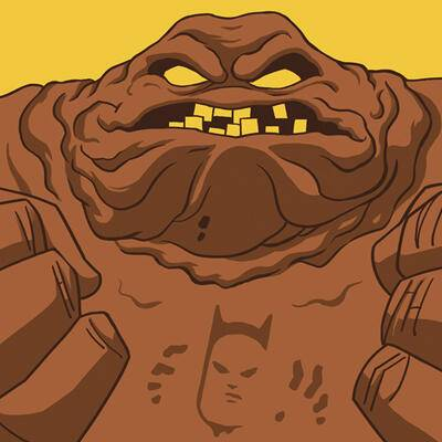 Cover art for Batman: The Animated Series (Clayface)