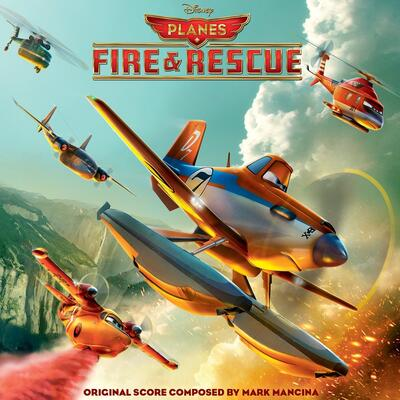 Cover art for Planes: Fire & Rescue