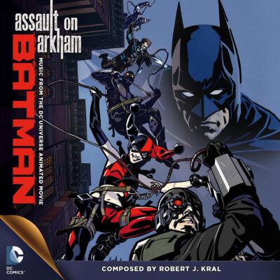 Cover art for Batman: Assault on Arkham