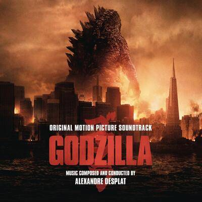 Cover art for Godzilla (Original Motion Picture Soundtrack) (Blood Red Vinyl Variant)