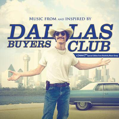Cover art for Dallas Buyers Club (Gold & Blue vinyl)