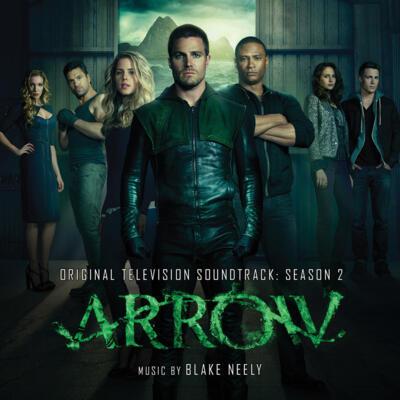 Cover art for Arrow (Season 2)