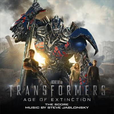 Cover art for Transformers: Age of Extinction