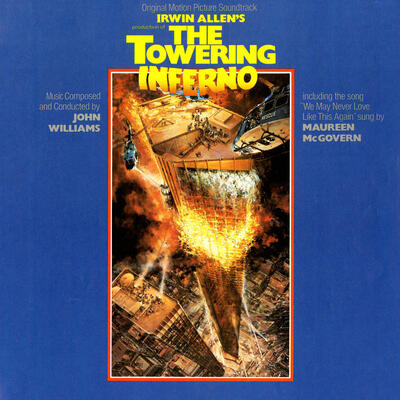 Cover art for The Towering Inferno
