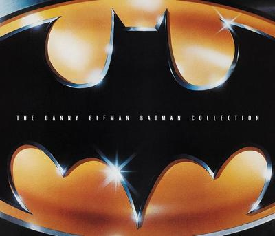 Cover art for The Danny Elfman Batman Collection
