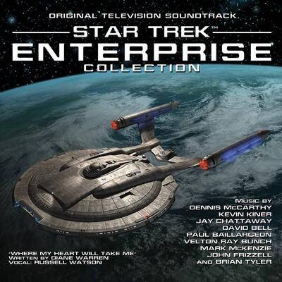 Cover art for Star Trek: Enterprise Collection (Original Television Soundtrack)
