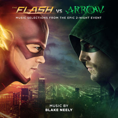 Cover art for The Flash vs. Arrow (Music Selections from the Epic 2-Night Event)