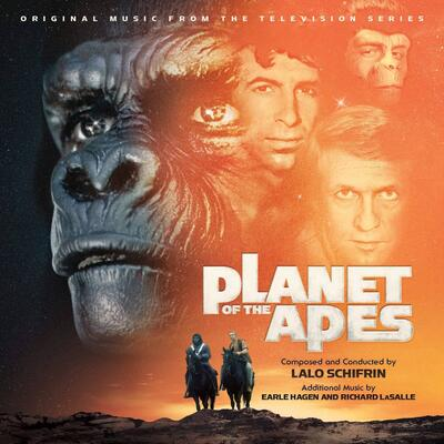Cover art for Planet of the Apes TV Series