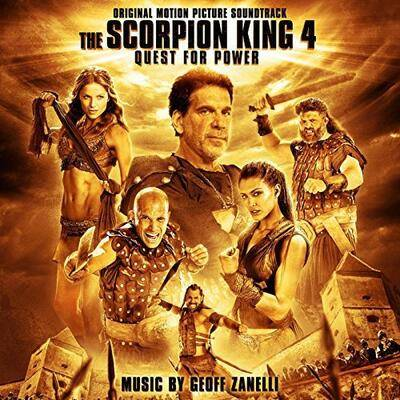 Cover art for The Scorpion King: The Lost Throne