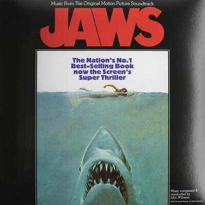 Cover art for Jaws