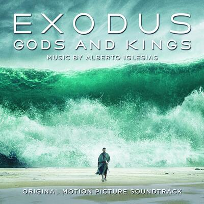 Cover art for Exodus: Gods and Kings (Blue, White & Black Mixed)