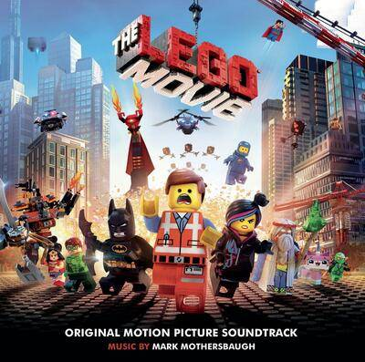 Cover art for The Lego Movie (Yellow Vinyl)