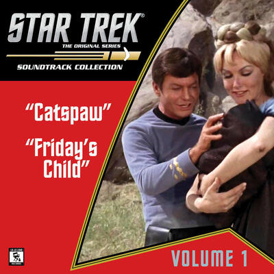 Cover art for Star Trek: The Original Series 1 (Catspaw / Friday's Child)