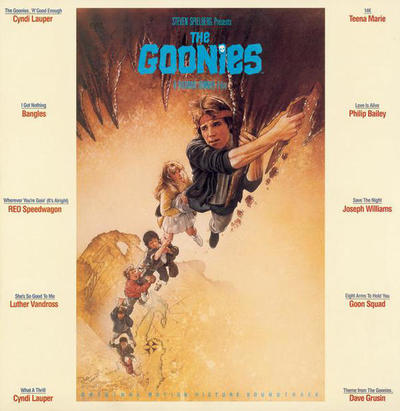 Cover art for The Goonies