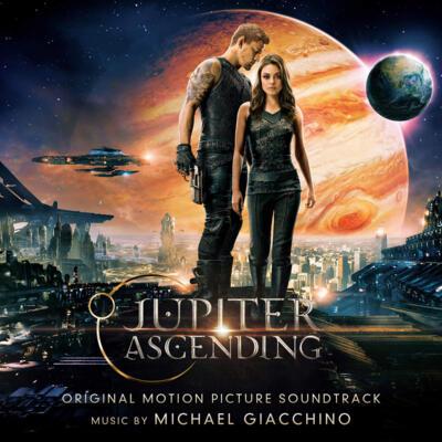 Cover art for Jupiter Ascending (Original Motion Picture Soundtrack) (Yellow & Black Marbled Vinyl)