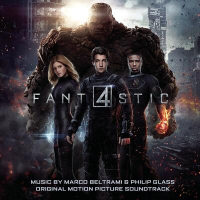 Cover art for Fantastic Four
