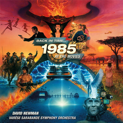 Cover art for Back In Time...1985 At The Movies