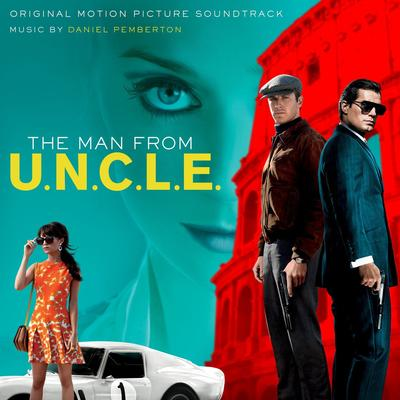 Cover art for The Man from U.N.C.L.E.