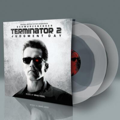 Cover art for Terminator 2: Judgment Day (Liquid Metal Transparent Vinyl)