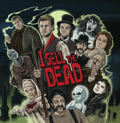 Cover art for I Sell the Dead (Blood Red and Purple Swirl Vinyl)