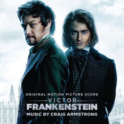 Cover art for Victor Frankenstein