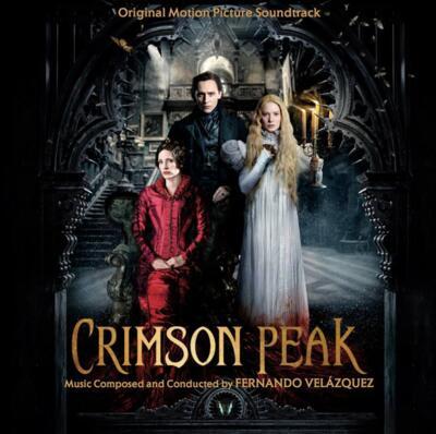 Cover art for Crimson Peak
