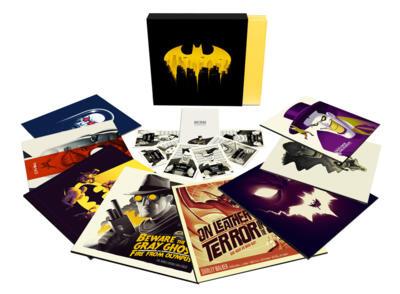 Cover art for Batman: The Animated Series Vinyl Box Set