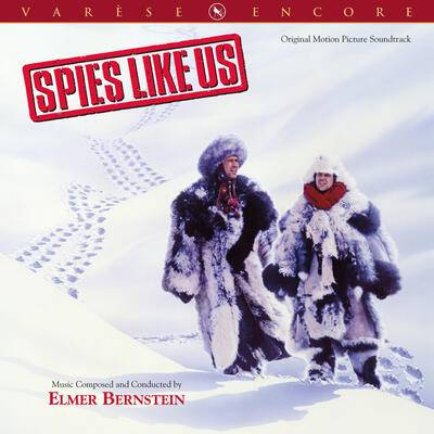 Cover art for Spies Like Us