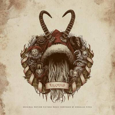 Cover art for Krampus (Dark Elves Picture Disc)