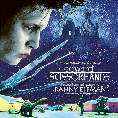 Cover art for Edward Scissorhands (Original Motion Picture Soundtrack)