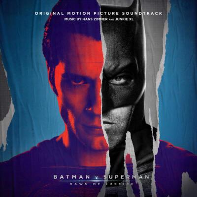 Cover art for Batman v Superman: Dawn of Justice (Original Motion Picture Soundtrack) (Deluxe Edition)