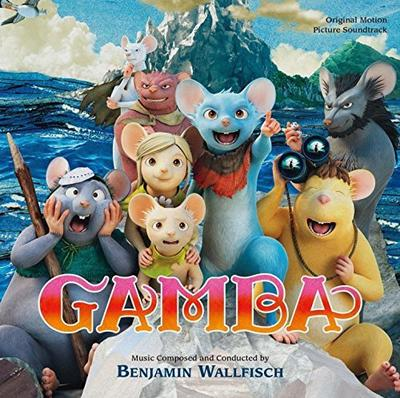 Cover art for Gamba & His Friends