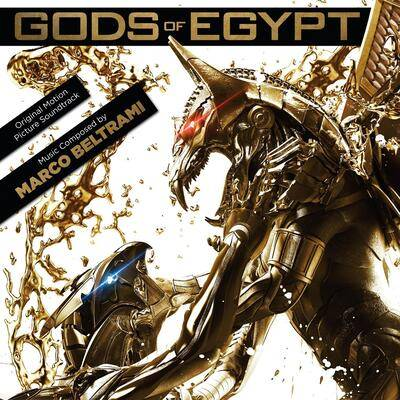 Cover art for Gods of Egypt (Original Motion Picture Soundtrack)