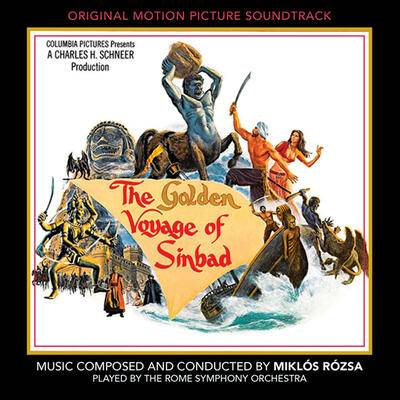Cover art for The Golden Voyage of Sinbad