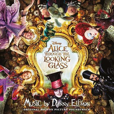 Cover art for Alice Through the Looking Glass