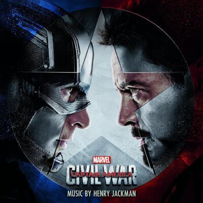 Cover art for Captain America: Civil War