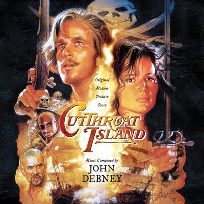 Cover art for Cutthroat Island (Original Motion Picture Score)