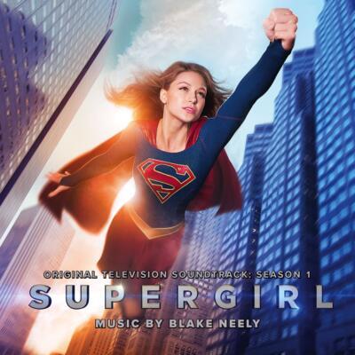 Cover art for Supergirl - Original Television Soundtrack: Season 1
