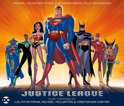 Cover art for Justice League - Original Soundtrack From The Warner Bros. Television Series